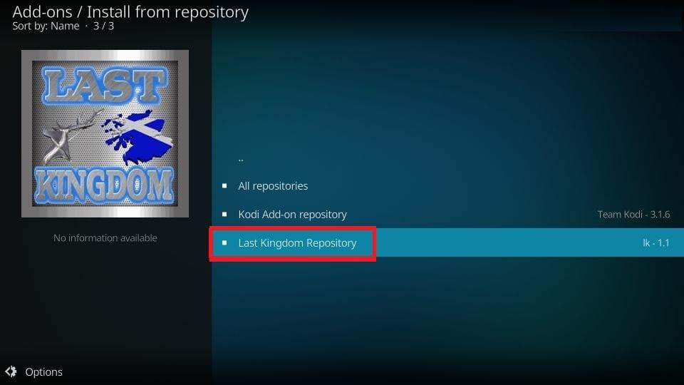 open last kingdom repository