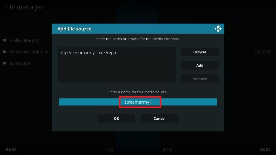 steps to install nemesis aio kodi addon