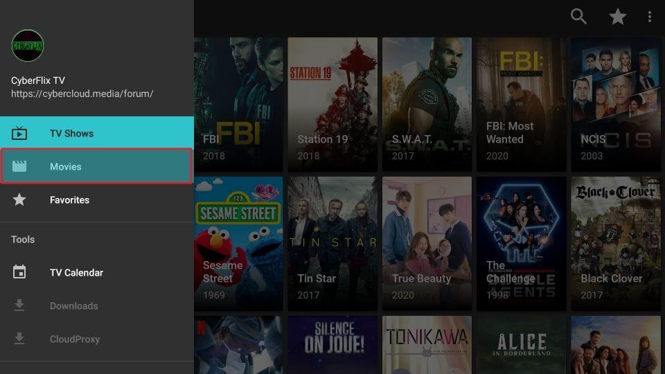 click movies