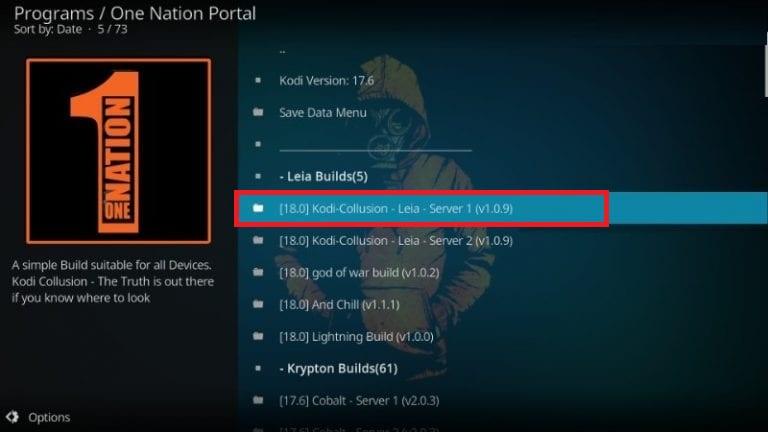 how to install kodi collusion on kodi 18 leia