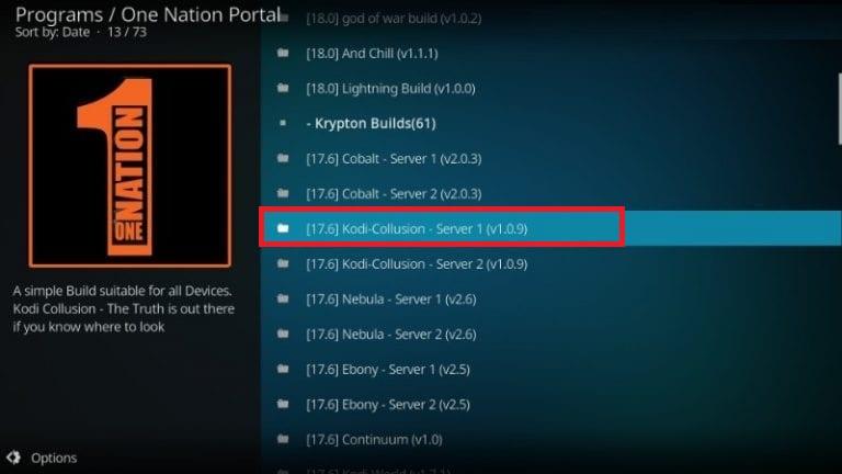 how to install kodi collusion on kodi 17.6 krypton
