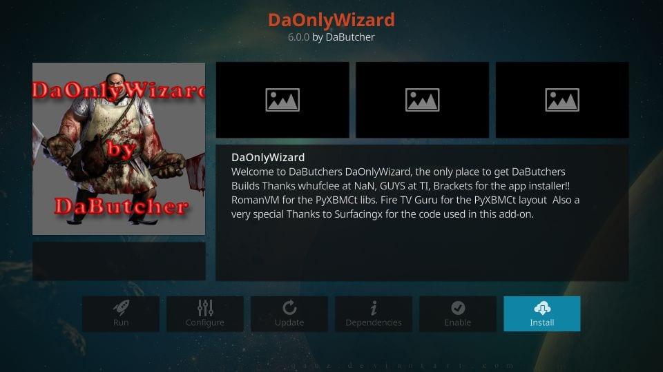 how to install dabutcher wizard on kodi