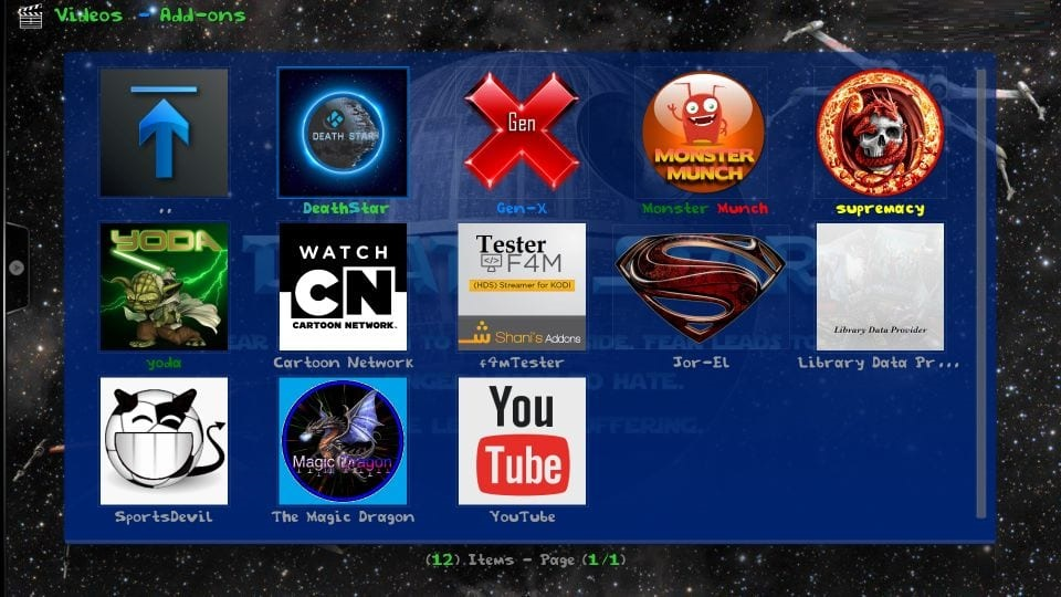 how to use grindhouse kodi builds