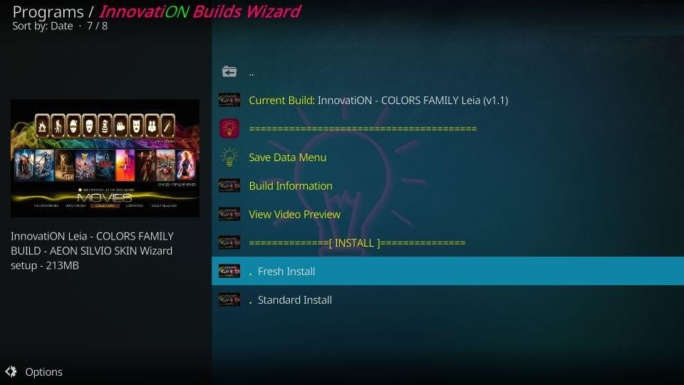 innovation builds on kodi