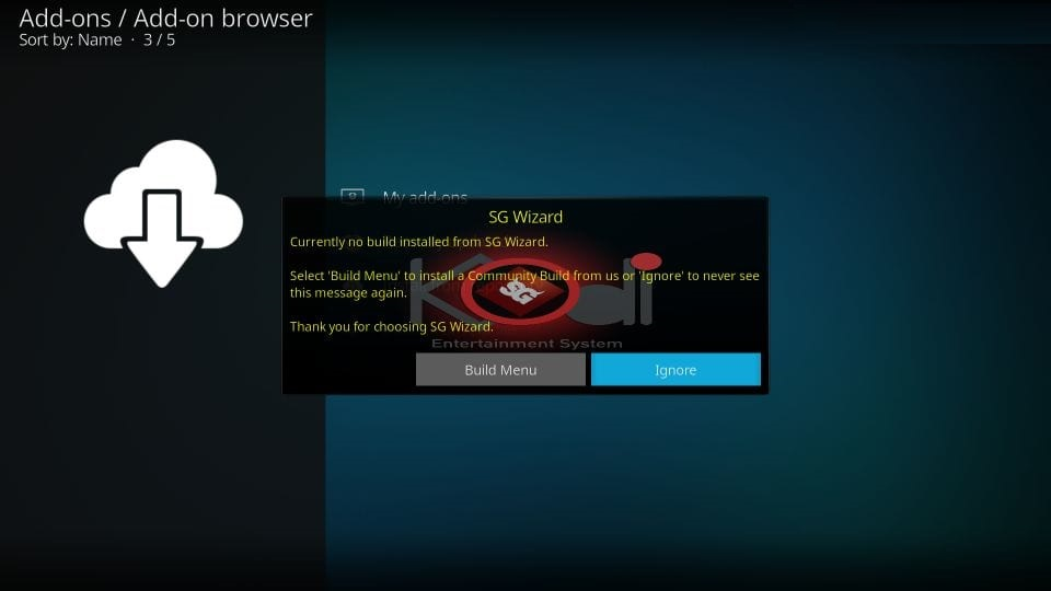 get sg wizard builds for kodi