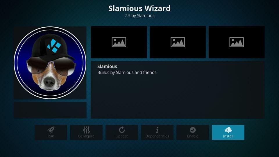 how to install slamious wizard on kodi