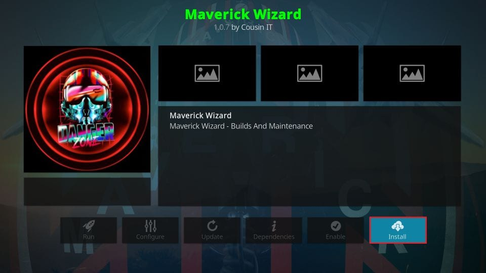 maverick kodi build