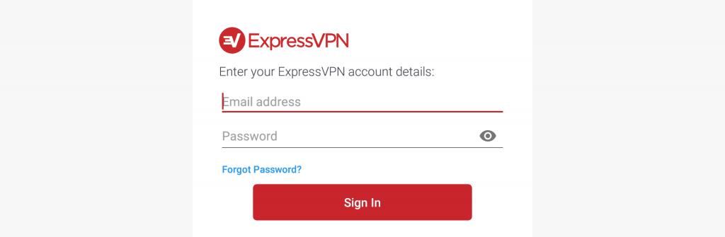 login expressvpn on firestick
