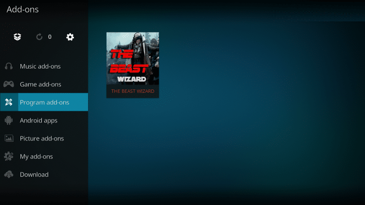 The Beast is considered one of the Best Kodi Builds by Firestickvpnkodi.