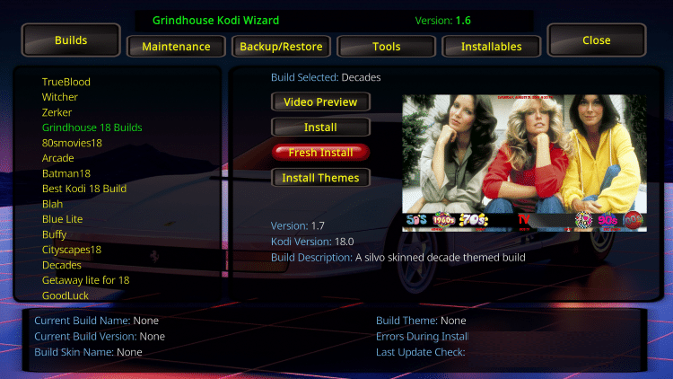 decades kodi build movies