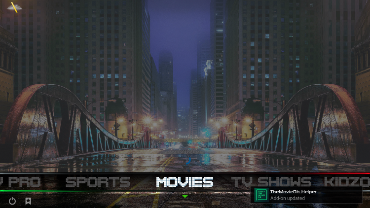 how to use infusion build on kodi