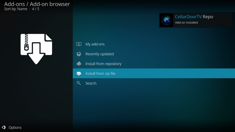 how to install infusion kodi build