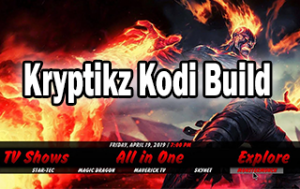 best kodi builds: Kryptikz