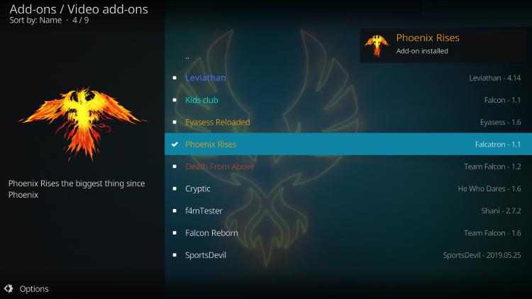 choose phoenix rises
