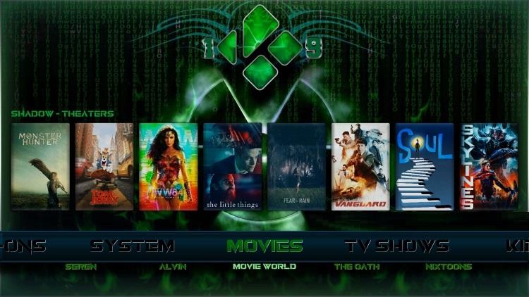 fallout kodi build movies