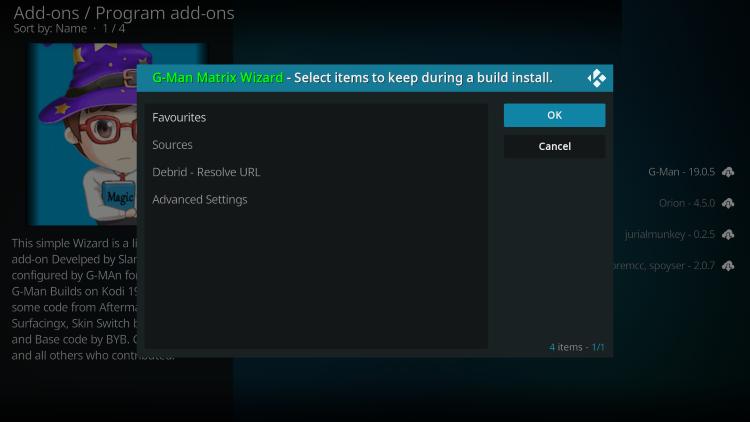 install daemon build on kodi