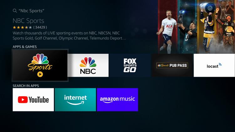 Choose NBC Sports