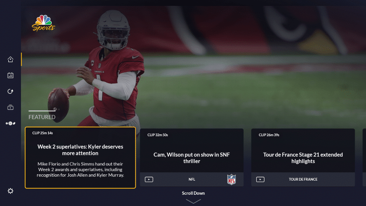 You have successfully installed the NBC Sports app on your Firestick/Fire TV.